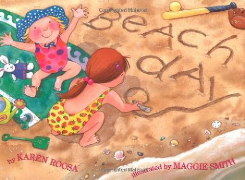 summer books beach day