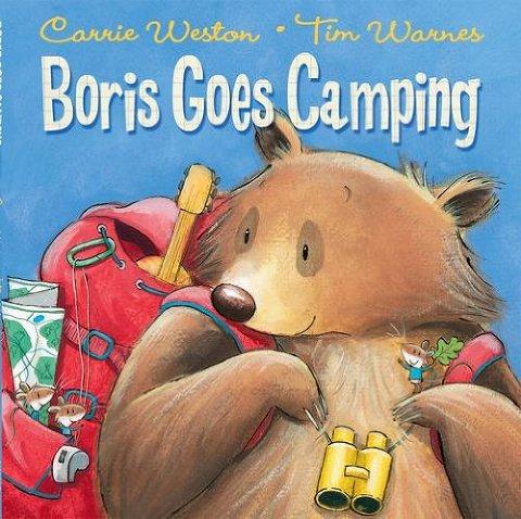 summer books boris goes camping