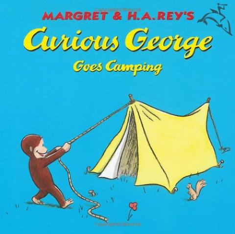 summer books curious george goes camping