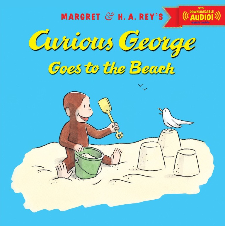 summer books curious george goes to the beach