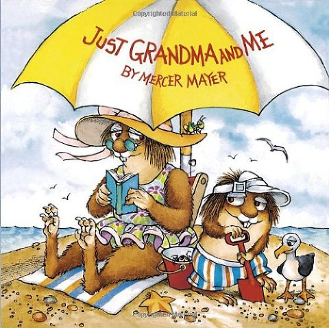 summer books just grandma and me