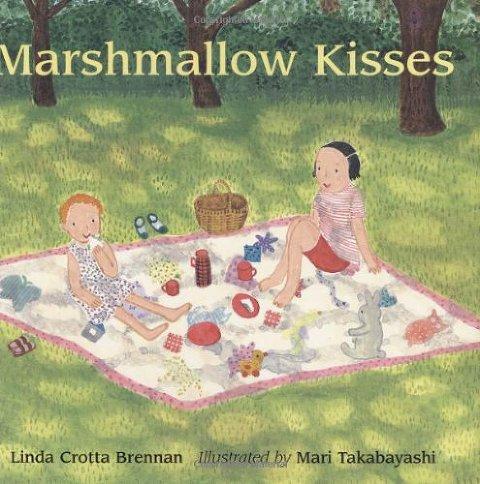 summer books marshmallow kisses