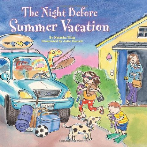 summer books night before summer vacation