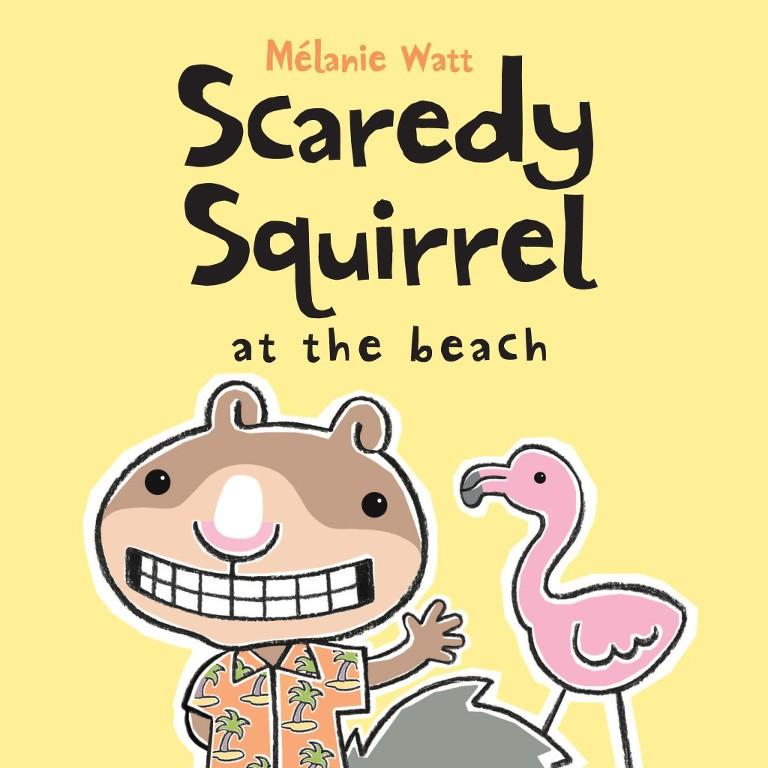 summer books squirrel