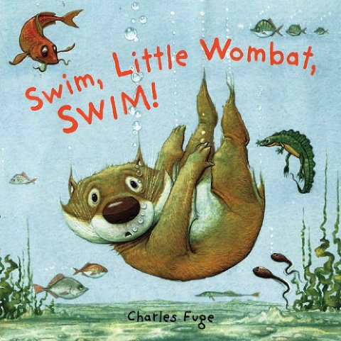 summer books swim little wombat