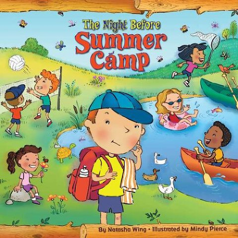 summer books the night before summer camp