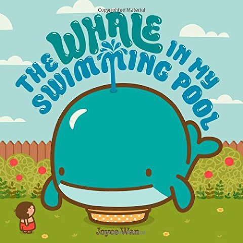 summer books the whale in my pool