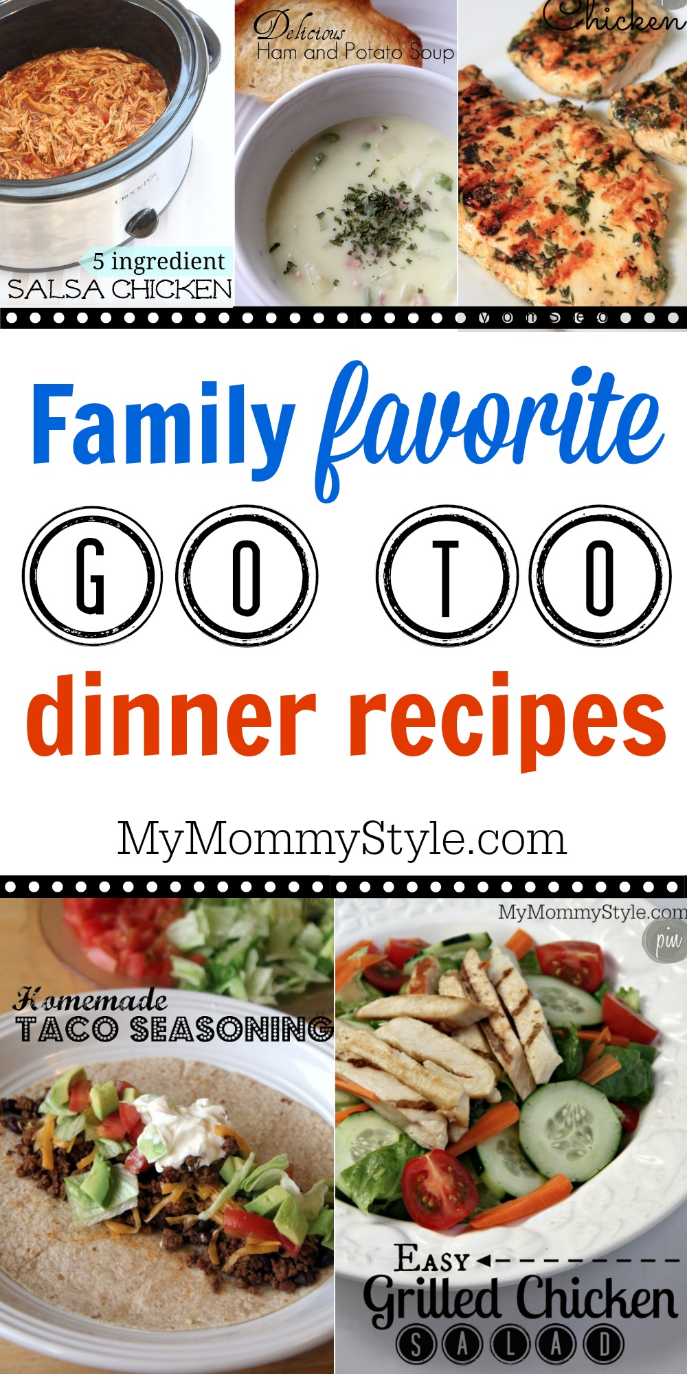 Family favorite go to dinner recipes my mommy style forumfinder Images