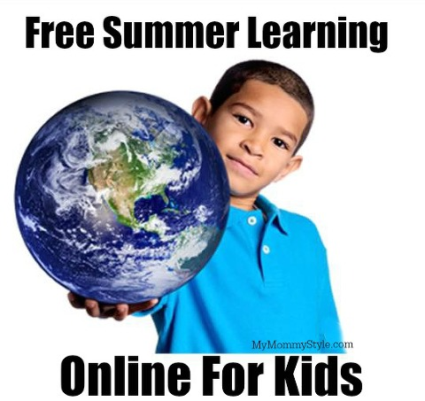 free summer learning online, summer learning, thinkearth, think earth, learning, kids, summer acitivities