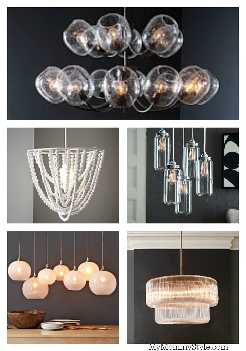 West Elm Lighting, chandeliers, My Mommy Style