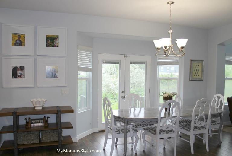 before, mymommystyle, kitchen, kitchen lighting, chandelier