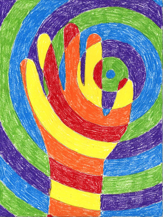Warm And Cool Colours Art Lesson For Kids