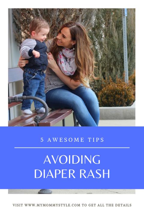 5 tips to avoid diaper rash