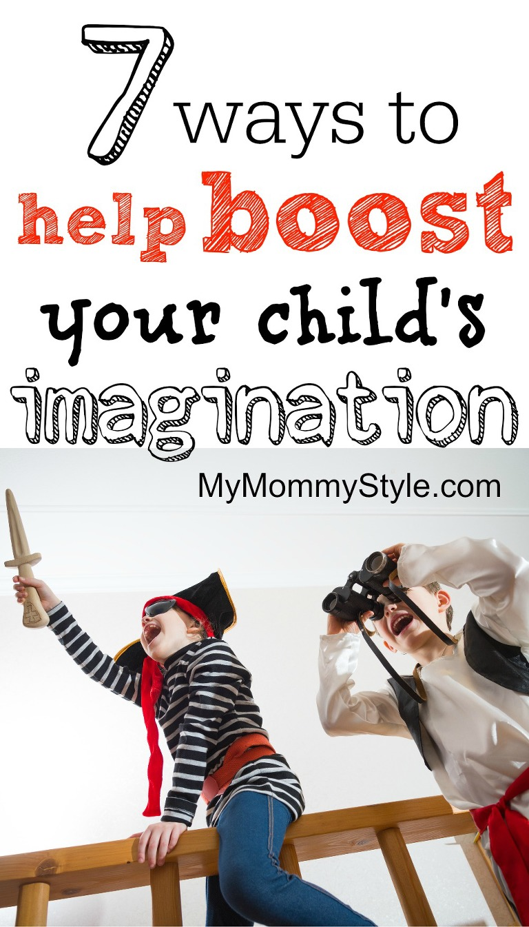 7 ways to help boost your child's imagination