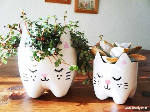 50 easy DIY projects made from items in your recycling bin