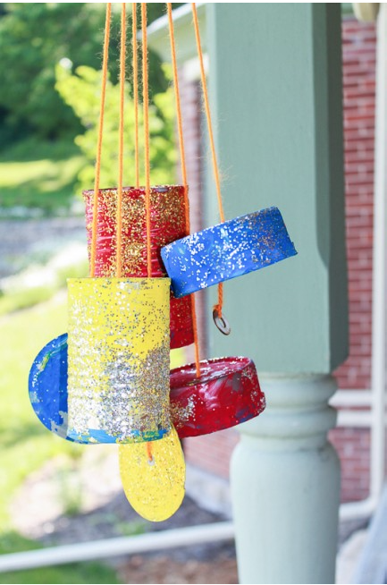 30 creative art projects using recycled materials my for Creative art using waste materials
