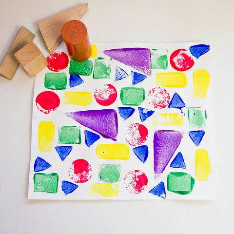 wooden block prints