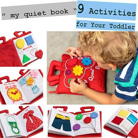 Basic Skills Quiet Book