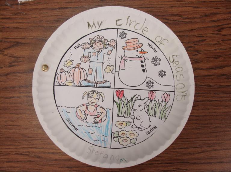 My Circle Seasons Book