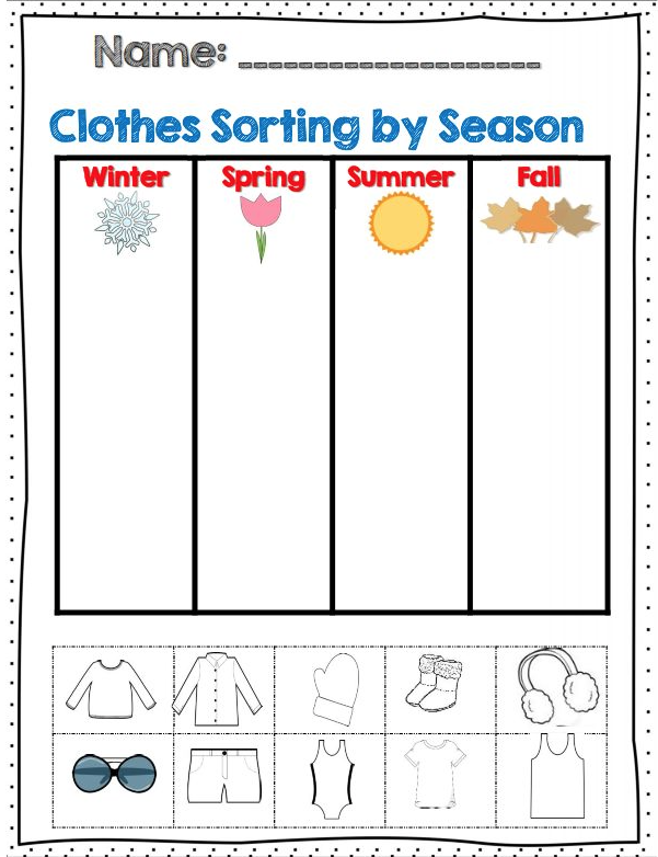 de9b95dee3e The 4 Seasons Of The Year - Lessons - Tes Teach