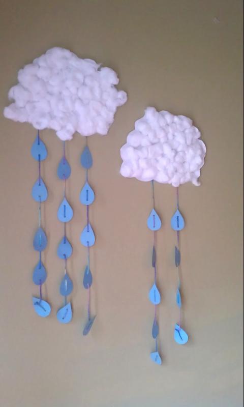 Rainy Clouds Craft