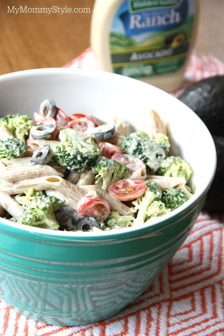 avocado ranch pasta salad my mommy style