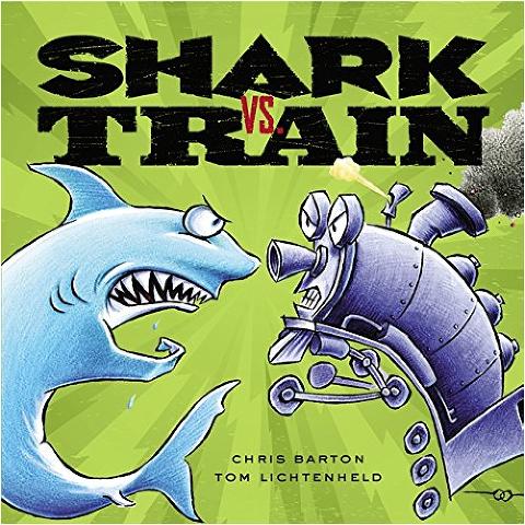 """Shark Books for Kids """"Shark Vs. Train"""""""
