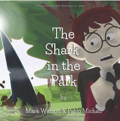 """Shark Books for Kids """"The Shark in the Park"""""""