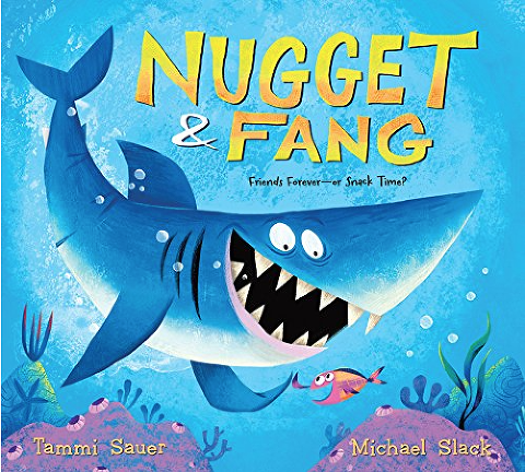 """Shark Books for Kids """"Nugget and Fang"""""""