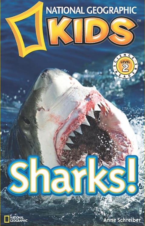 "Shark Books for Kids ""National Geographic Kids Sharks"""
