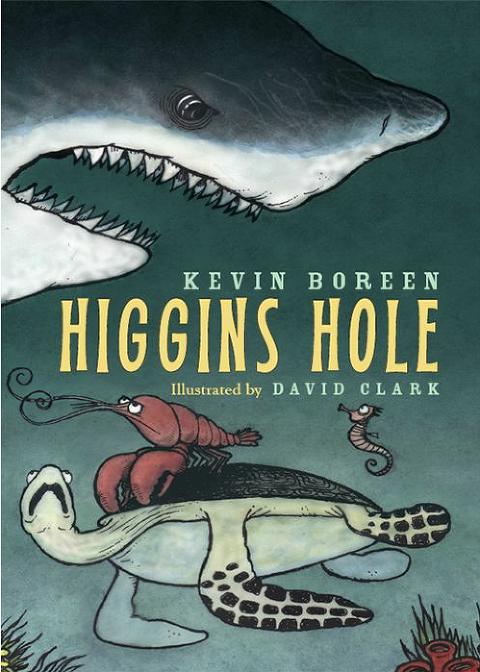 "Shark Books for Kids ""Higgins Hole"""