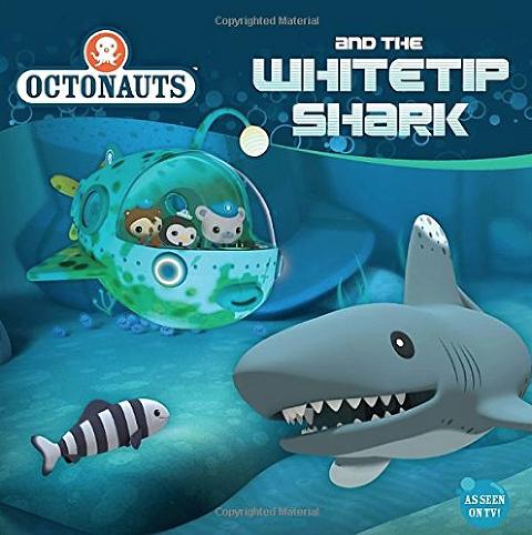 """Shark Books for Kids """"Octonauts and the Whitetip Shark"""""""
