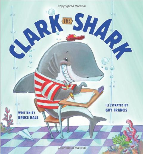 """Shark Books for Kids """"Clark the Shark"""""""