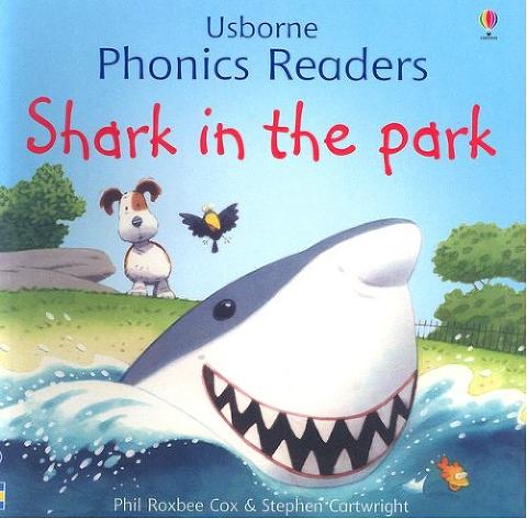"""Shark Book for kids """"Shark in the Park"""""""