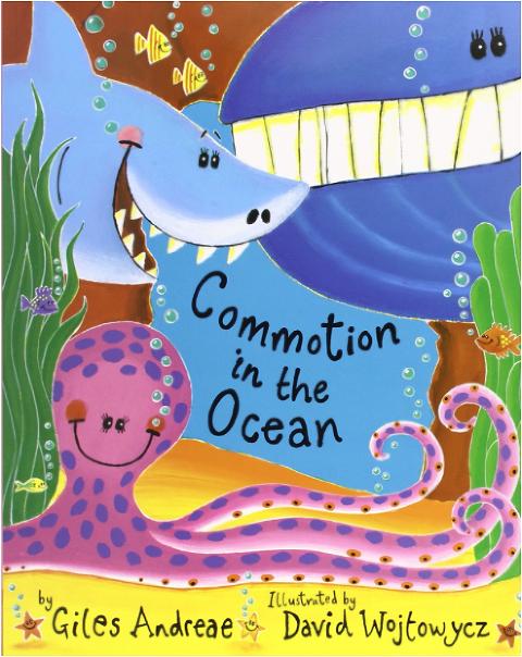 "Shark Books for Kids ""Commotion in the Ocean"""