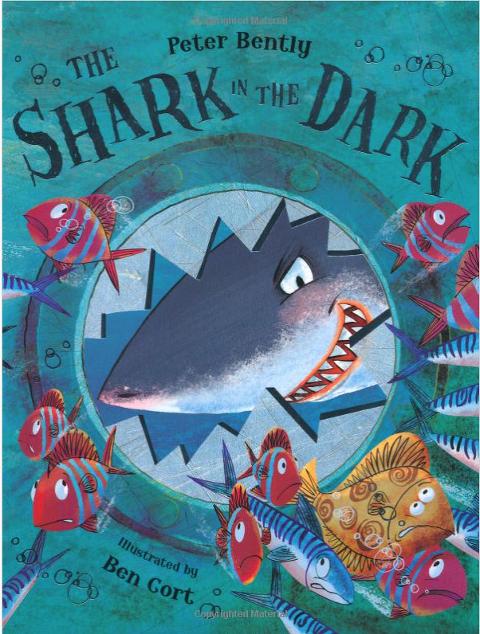 """Shark Books for Kids """"Shark in the Dark"""""""