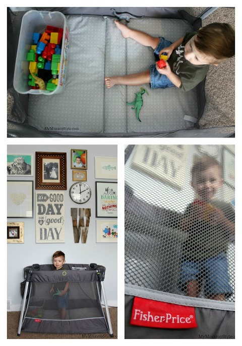 collage, baby play yard, play, baby, sleepover