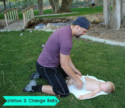 change baby, baby challenge, fisher price challenge