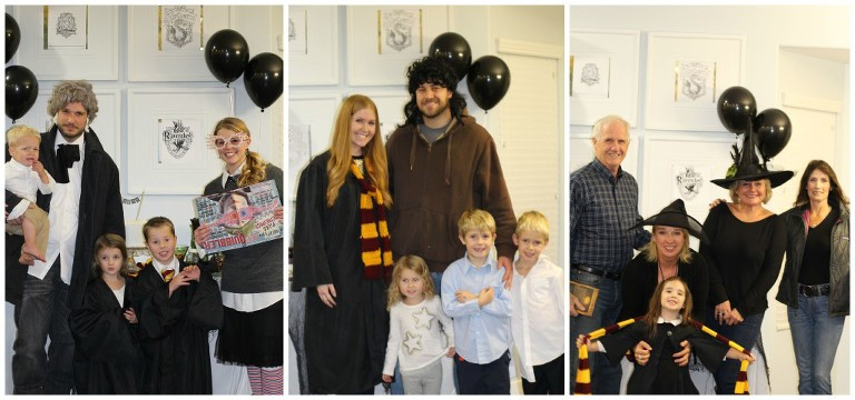 harry potter family guests