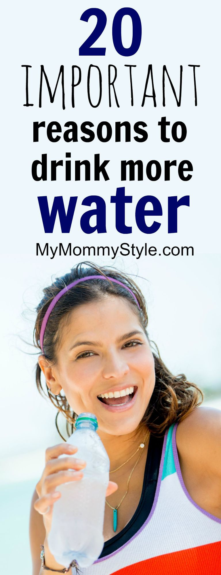 20 important reasons to drink more water