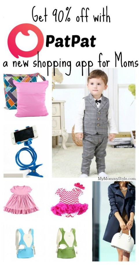 PatPat a new shopping app for Moms, Mymommystyle.com
