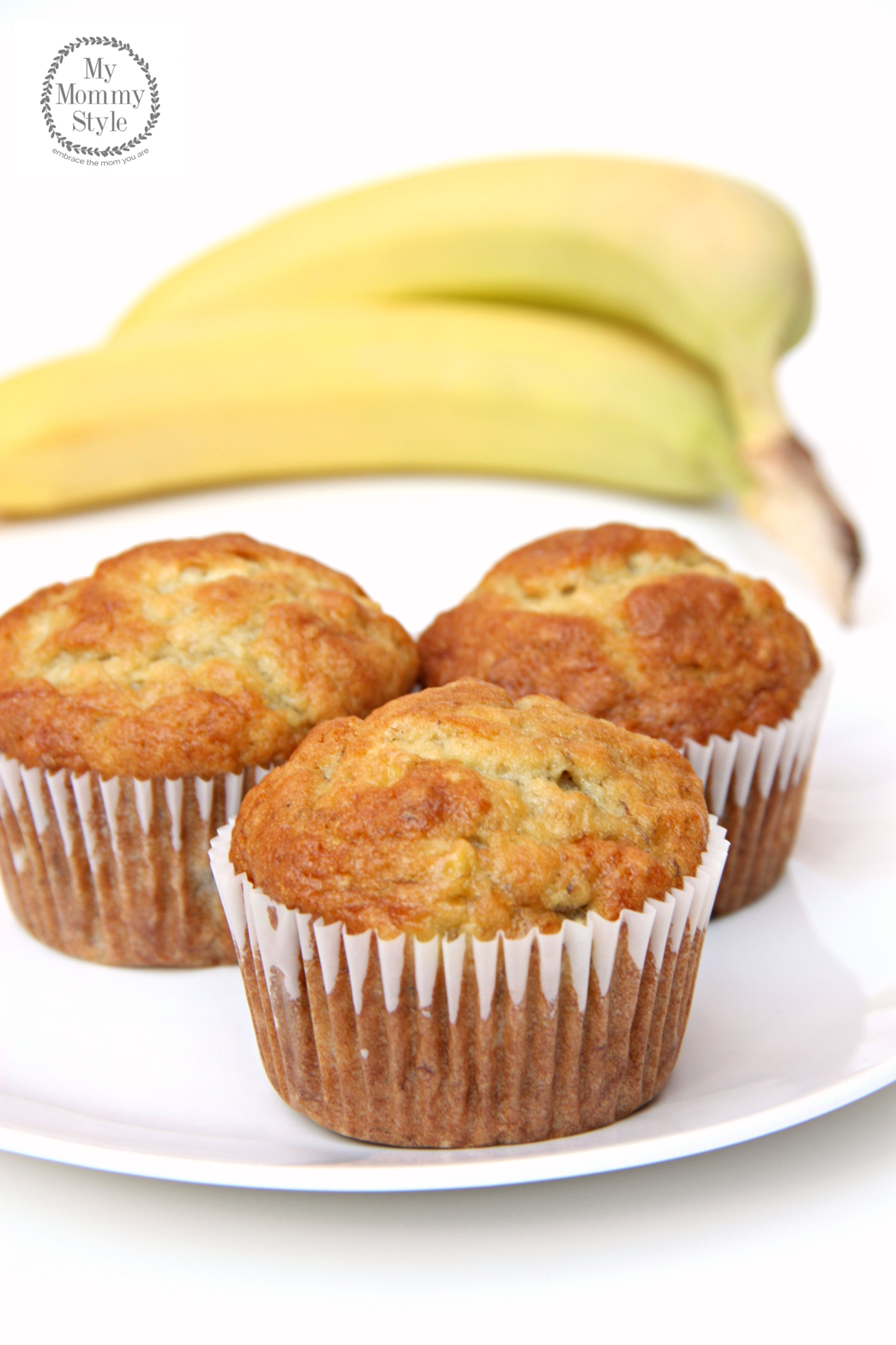 Perfect Banana Muffins {with video} - My Mommy Style