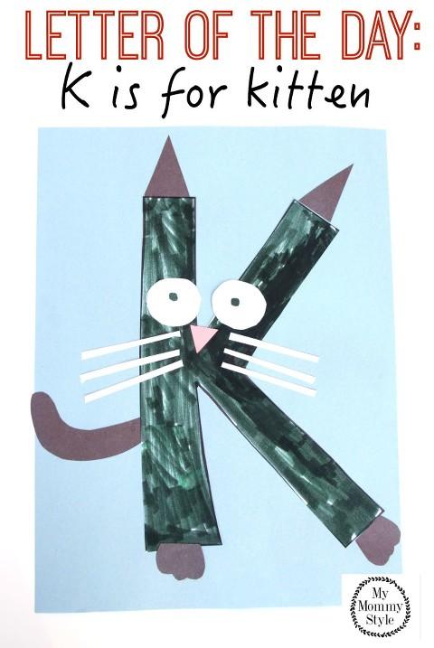 Letter of the day k is for kitten