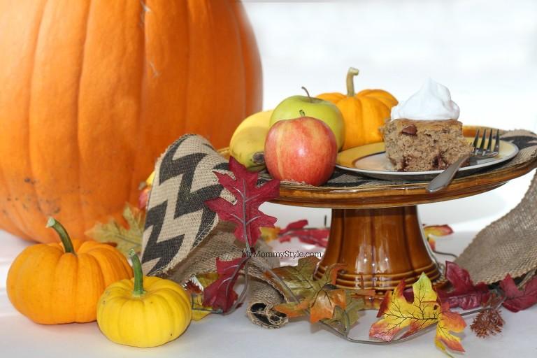 fall, Banana Pumpkin Cake, pumpkin, fall, fall treats, yoplait, mymommystyle