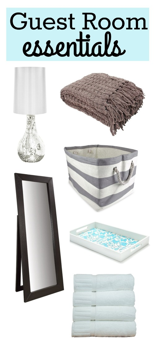 Guest room essentials to make a cozy and comfortable room for your guests