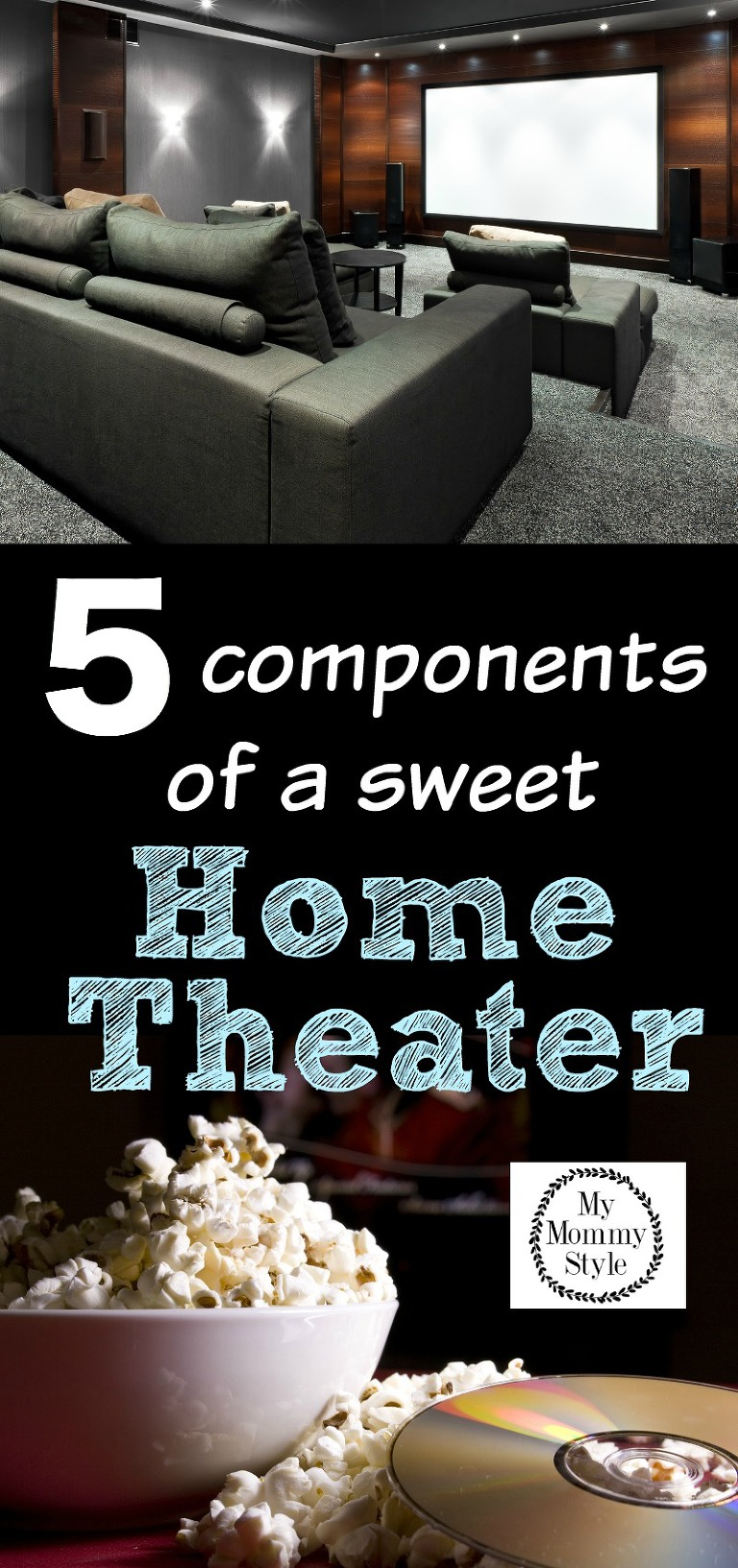 5 components of a sweet home theater