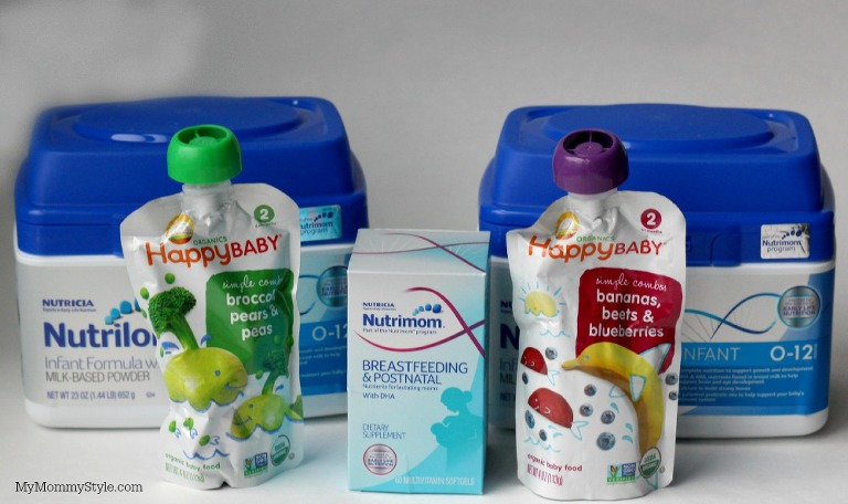 nutrimom products, baby formula, happy baby organics