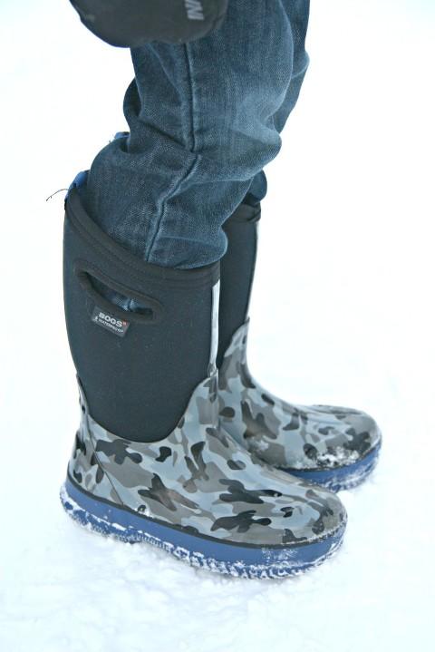 Jordan's bog boots