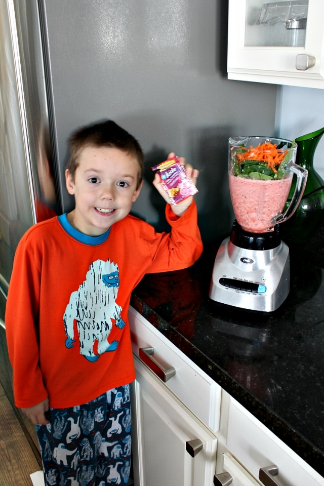 EmergenC, smoothie for kids, healthy eating, mymommystyle