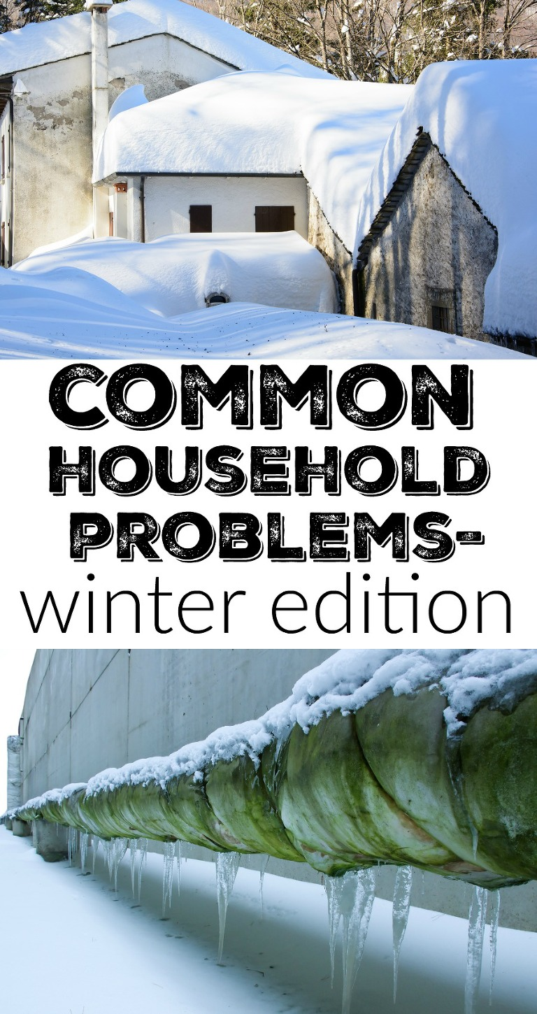 common household problems in the winter